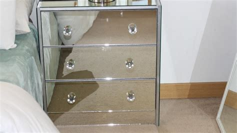 Diy Ikea Mirrored Nightstand| Ikea Hacks! Lindailyblog 3 Large Drawer Plastic Storage Unit Shoe Under Stairs Units Nz Scottish Fold Caught In Craftsman 5 Tool Chest With Riser Two White Side Table Dressing Drawers Down The Depth