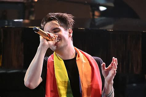 brendon urie pledges  million   lgbt youth