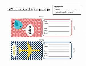 diy printable luggage tags brass and whatnots With luggage labels template