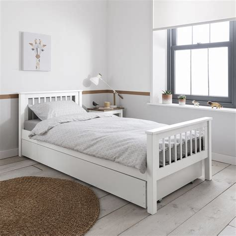 White Beds For Sale by Hshire Single Bed Frame In White Single Beds From Noa