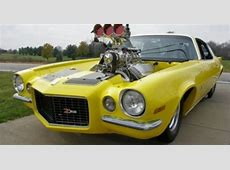 full blown camaros 1971 Camaro Blown EFI 572 Pro Street