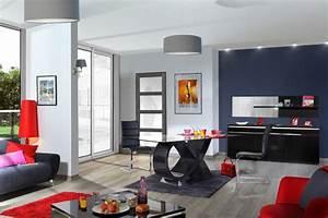 chaise electra laque noir noir brillant l 46 x h 100 x p 55 With meuble salle À manger avec chaise sejour noir