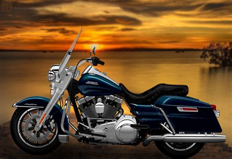 Harley Davidson Wallpapers by Harley Davidson Road King Wallpapers And Background Images