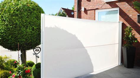 Sichtschutz Garten Ausziehbar ausziehbare seitenmarkise sichtschutz exclusiv home