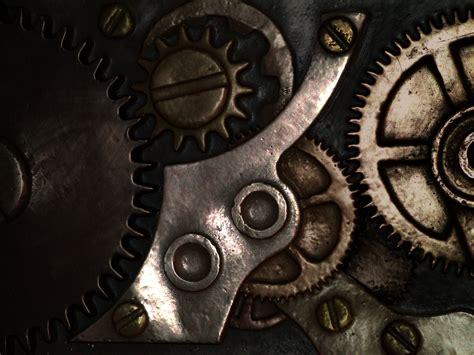 Gears Mechanical Technics Metal Steel Abstract Abstraction