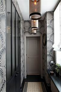 tapeten ideen fur eine ausgefallene wandgestaltung With balkon teppich mit flur tapeten