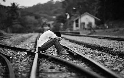 Sad Wallpapers Alone Depression Boy Dark Heart
