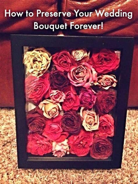 preserve  wedding bouquet