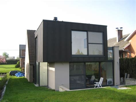 extension contemporaine d une villa 224 overijse herv 233 vanden haute