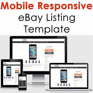 Ebay Template Responsive Professional Listing Design