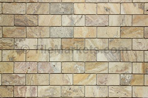 travertine mosaic travertine scabos 2x4 tumbled tilemarkets 174