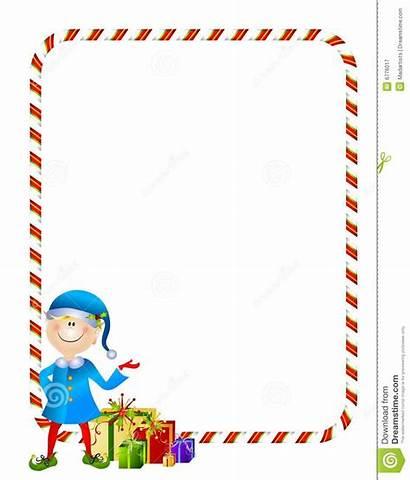 Elf Border Xmas Gifts Regali Dei Clip