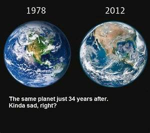 Are These Images of Earth in 1978 and 2012 Accurate?