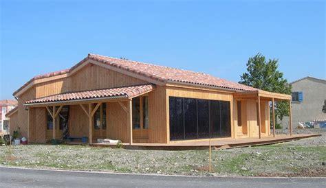 prix d une maison en bois de 100m2 maison en bois moderne c125 prix terrasse bois composite
