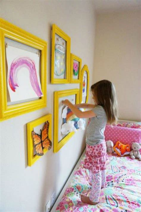 It turns out that lots of people upcycle empty picture frames, and there are a lot of awesome project tutes to turn that empty picture frame into just about anything else that you could ever want or need. The 11 Best Kids Art Display Ideas | Page 3 of 3 | The Eleven Best