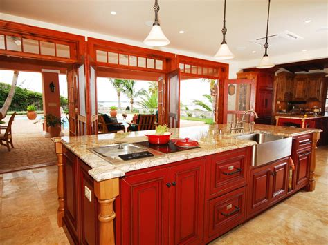 kitchen island color ideas color ideas for painting kitchen cabinets hgtv pictures