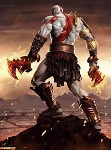 kratos art - Google Search | Video games | Pinterest | Art ...