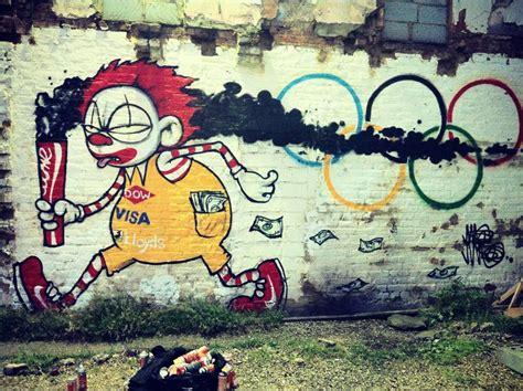 Graffiti Vs : London Council Whitewashes Iconic Olympic Graffiti