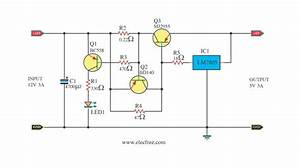 12v To 5v 3a Dc Converter Step Down Regulator  U2013 Circuit