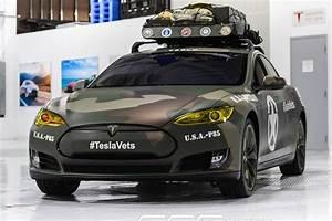Auto überwachungskamera Gegen Vandalismus : army look f r den tesla model s stromer ~ Michelbontemps.com Haus und Dekorationen