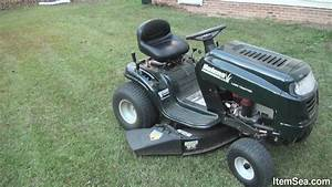 Bolens 15 5 Hp Manual 38 U0026quot  Cut Lawn Tractor  Itemsea