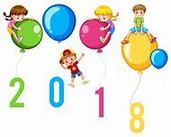 happy new year 2018 clip art
