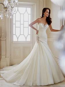sexy mermaid wedding dresses with sweetheart neckline With wedding dress necklines