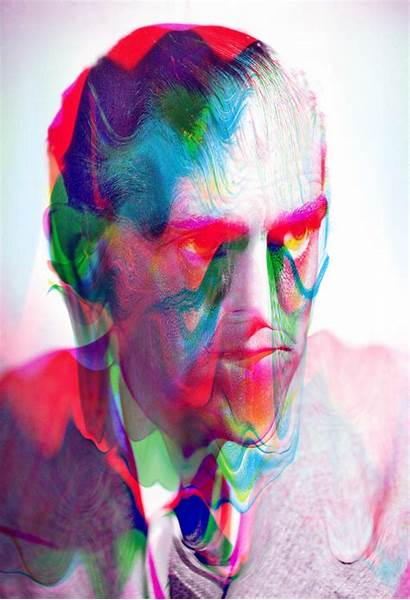 Tyler Spangler Portraits Sheep Psychedelic Digital Portrait