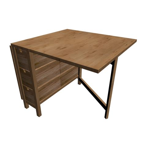 Ikea Tisch Norden by Norden Klapptisch Einrichten Planen In 3d