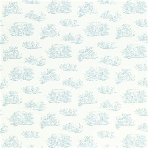 Toile * Topaz Green * Patterned Wallpaper * Laura Ashley