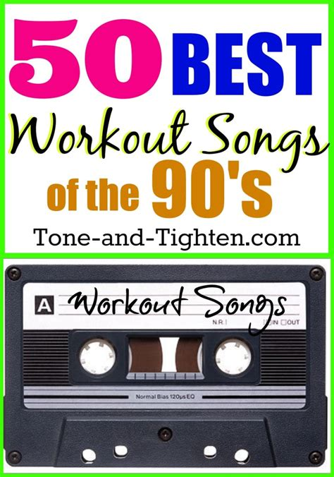 workout playlist music songs exercise tone 90s 90 tighten 1990 1990s tunes ultimate workouts cd song fitness jump throwback awesome