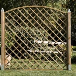 Treillis Jardin Leroy Merlin by Panneau Treillis Bois Ajour 233 Sonato L 180 Cm X H 180 Cm