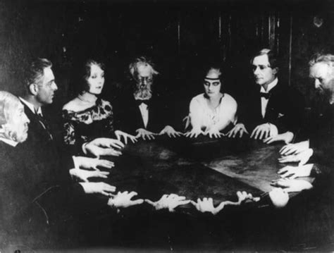 bw darkness occult scary vintage image