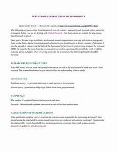 9 market research proposal templates pdf doc free With market research document template