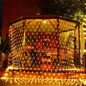 Fishnet, Led, Light, Christmas, Decorations, For, Home, Lights, Outdoor, Led, String, Party, Wedding, Decor