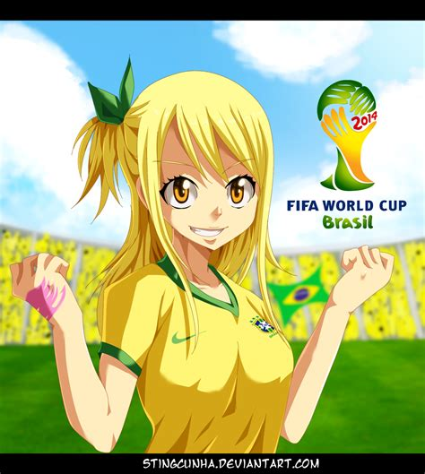 anime in brasil brazil world cup 2014 by stingcunha on deviantart