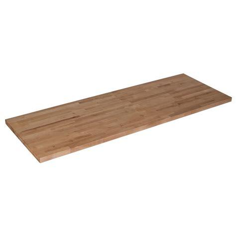 kitchen island butchers block 50 in x 25 in x 1 5 in wood butcher block countertop in