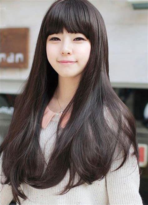korean female hairstyle baby doll latest hair styles