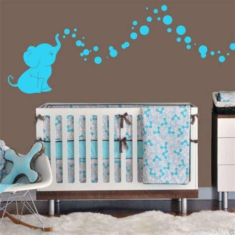 déco originale chambre bébé idée déco chambre bébé sympa et originale à motif d 39 éléphant