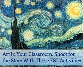 art   classroom shoot   stars   esl