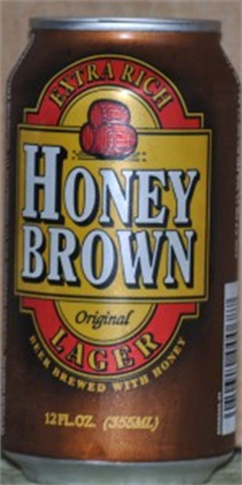 original honey brown extra rich lager beer brewed