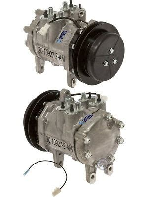 new ac a c compressor fits deere tractors windrowers w denso 6e171 1gr ebay