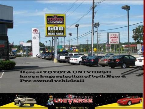 Toyota Universe by Toyota Universe Car Dealership In Falls Nj 07424