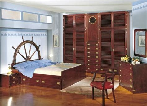 Nautical Decor Ideas Enhanced By Vintage Ship Wheels And