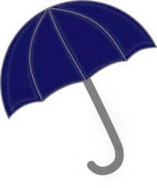 Blue Umbrella Clip Art
