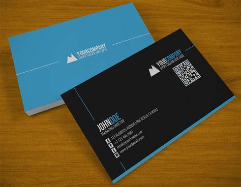Clean Qr Business Card By Samiyilmaz On Deviantart Best Business Cards Online India Instant Brisbane Credit With Fair Background Blue Artist Design Satin Black Great In The World