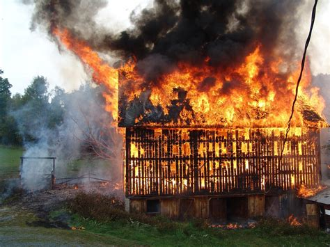 Barn Fires by Preparing For Winter And A Emergency