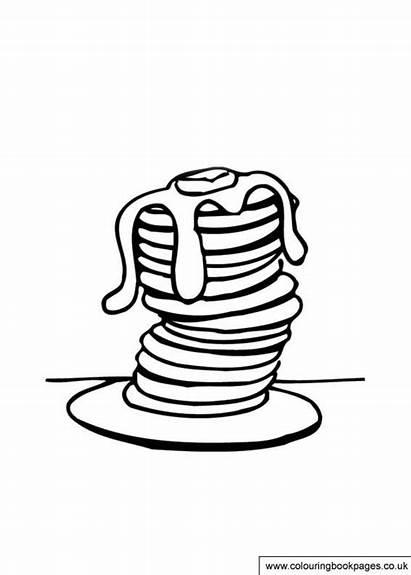 Pancake Colouring Tuesday Printable Shrove Activities Games
