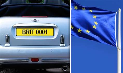 Plot To Axe Our British Number Plates For Standardised Eu