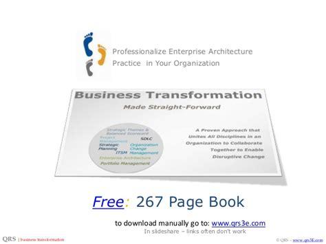 professionalize enterprise architecture practice